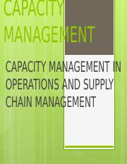 CAPACITY-MANAGEMENT