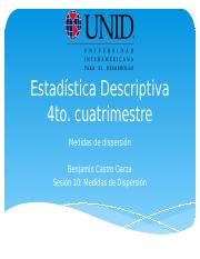 Estadistica Descriptia 10