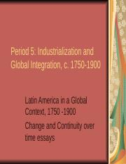 1750-1900 Review PPT_2014