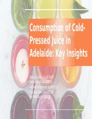 Cold-Pressed Juice - Quantitative Report.pptx