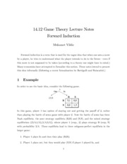 MIT Game Theory Notes on Lecture 7