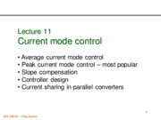 472 Lecture 11 current mode control basics
