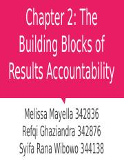 Chapter 2: The Building Blocks of Results Accountability