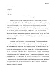 Comparitive Analysis Essay