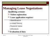 REM 4111_lecture_ managing lease negot