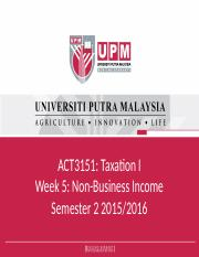 Week 5_Other Income