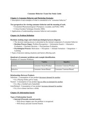 Study Guide - Exam One Generic v. Selective