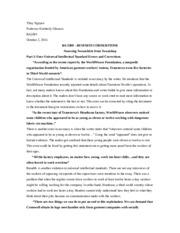 Sweatshop essay