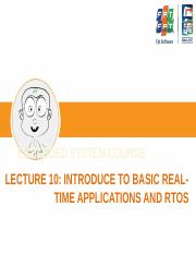 Lecture 10 - Introduce to Freescale MQX RTOS.pptx