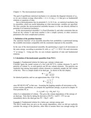 CHEM 544 Chapter 11 Microanonical Ensemble Notes