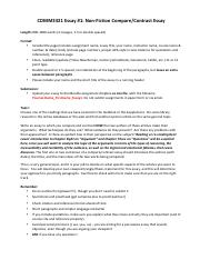 1_Essay #1 Assignment Guidelines
