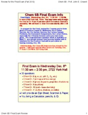 Chem%206B_F10%20hol%20-%20Review%20for%20Final%20Exam