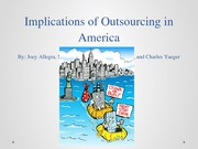 Implications of Outsourcing Student Presentation