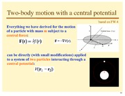 Lecture Notes E on Classical Mechanics