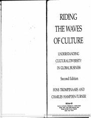 Reading #1 - Definition of Culture
