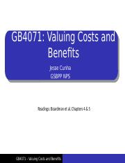 CBA Lecture 2 - Valuing Benefits and Costs.pptx