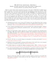 StudyQuestions-Midterm-I-short-answer-Sebastian-2015-key