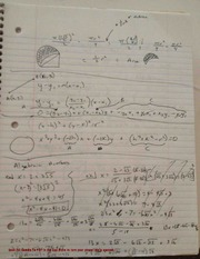 Algebraic Numbers Notes