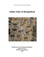 Soil salinity report-Nov 2010