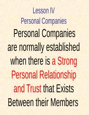 L-4-Personal Companies.ppt