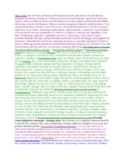 Exam One cheat sheet