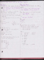 Chapter 4.2 Rolle's Theorem and the Mean Value Equation