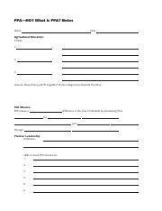 Ffa Emblem Worksheet - Checks Worksheet