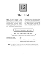 Heart Study Guide