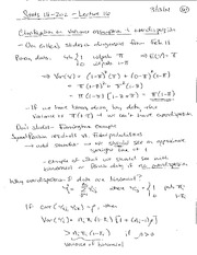 Handwritten Lecture Notes 16