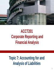 ACCT201-Topic07-Liabilities