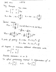 PHY 471 Lecture Notes (11/9/2015)