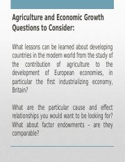 339 Agriculture Questions to Consider