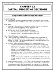 ch13 capital budgeting