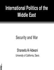 11 POL 135 IPME Region Security, War.pdf