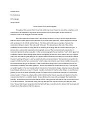 Purdue owl thesis paragraph
