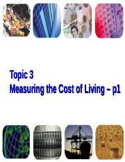 ECON03 - Measuring cost of living -p1