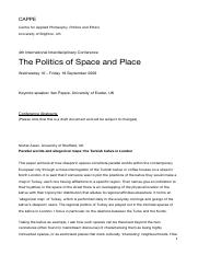 the-politics-of-space-and-place-abstracts