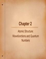 2.3 Atomic Structure