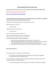 Afromusicology Mid Term Study Guide 2014 (1)