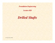 Lecture20-Drilled-Shafts