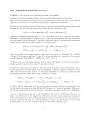 STATS 110 Fall 2014 Homework 10 Solutions