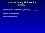 SMT302_lecture_38_manufacturing philosphy and QC_notes