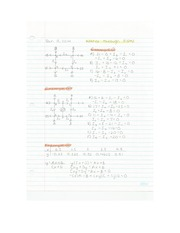 Applied Math - Water Through Pipes & Electrical Circuits Lecture Notes