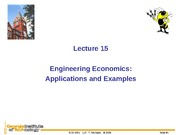 L15_Engineering Economy