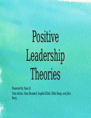 leadership theories university of phoenix Researches show that leadership is an important variable that enable high job   are used in this study as important dimensions of contemporary leadership  theories  doctoral dissertation, school of advanced study, university of  phoenix.