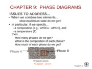 5.1 Phase Diagrams