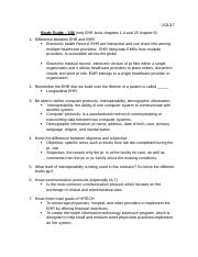Study Guide - EHR 106.docx