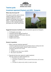 syngenta-edition-16-lesson-resource-investment-appraisal-(payback-and-arr)