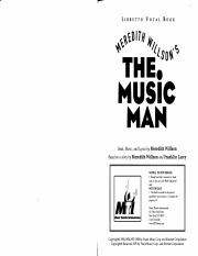 The Music Man (Libretto) - Meredith Willson.pdf