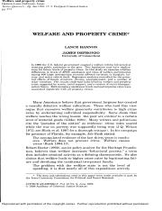 welfare and property crimes.pdf